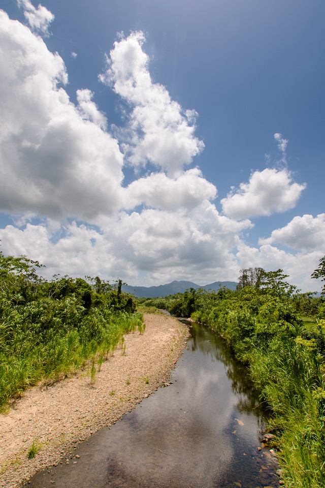 Scenes along the Hummingbird Highway, Southern Belize.
