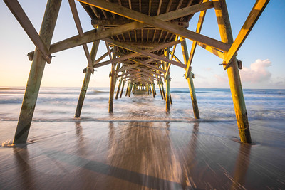 Under Surfside Pier