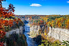 Letchworth Fall Upper & MIddle Falls