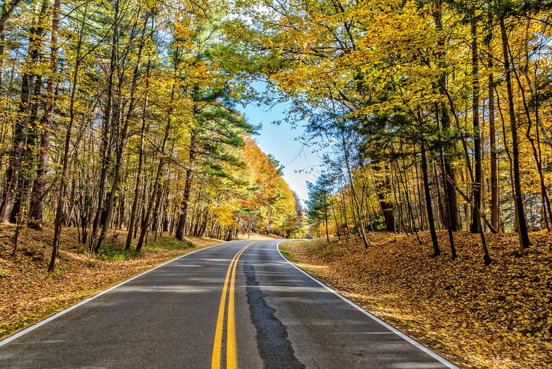 Letchworth Fall Road