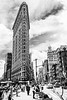 Flat Iron Building Full B&W