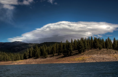 More clouds - Lake Stampede, Ca