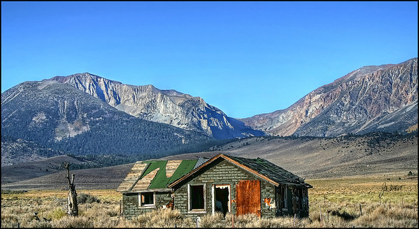 East side Sierras - Highway 395 north of June Lake Loop