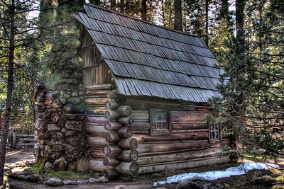 Mountaineer or Anderson Cabin.  Other view