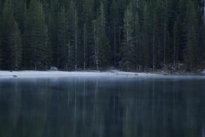 Mist on Lake Tenaya - late October