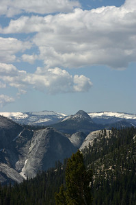 View from Olmstead Point, Highway 120 - Tioga Pass