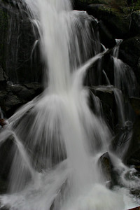 Waterfall along Highway 120.
