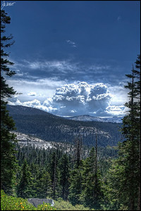 Thunderhead - Tioga pass - August 2012