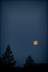 Setting Super Moon - May 2012