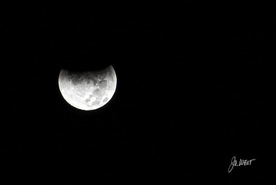 Start of eclipse - Dec 10, 2011
