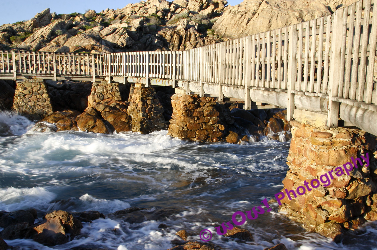 'Bridge Over Troubled Waters'  Canal Rocks, Yallingup, Western Australia