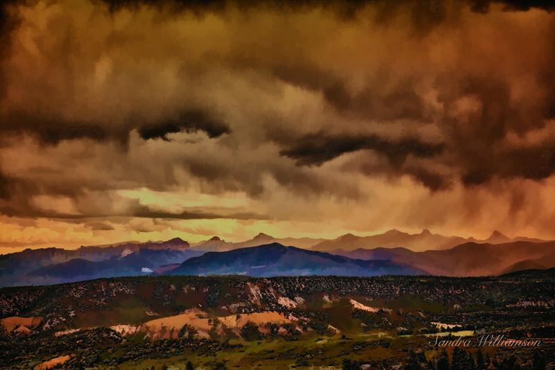Storm N of Telluride Co