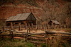 Old Mountain Cabin circa 1859 near Zion, Ut