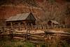 Old Mountain Cabin circa 1859 near Zion, Ut
