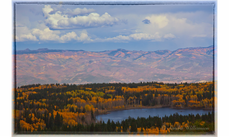 Grand Mesa of the Colorado, Autumn View, Oct 1, 2011