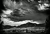 Black and white Colorado storm.