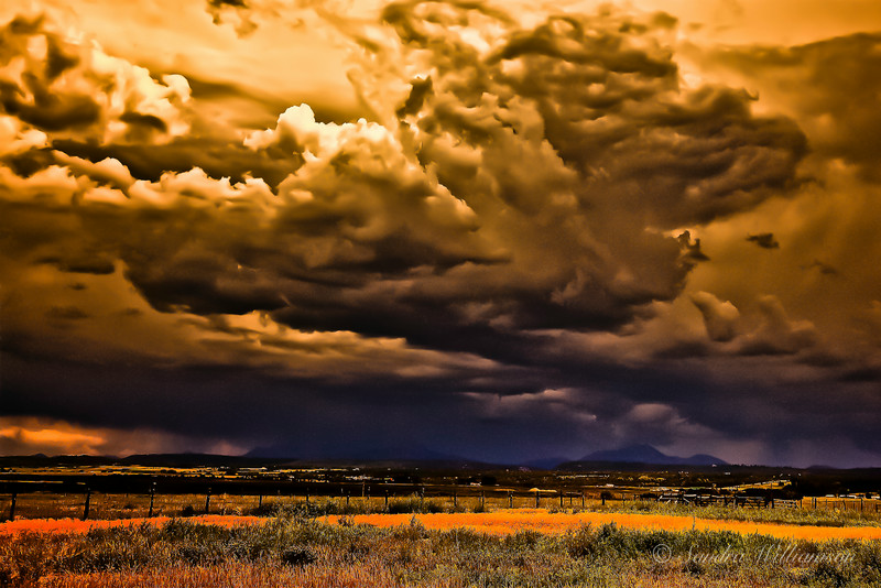 Storm over the San Juans, Colorado