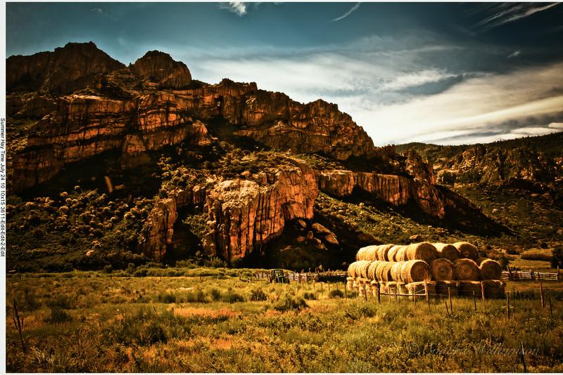 Haytime western Colorado