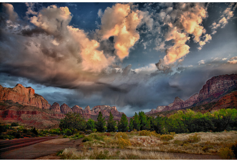 Zion Storm Coming