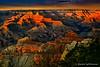Stylized Grand Canyon evening shot.