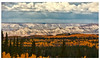 Grand Mesa stylized Photograph in Topaz Filters.