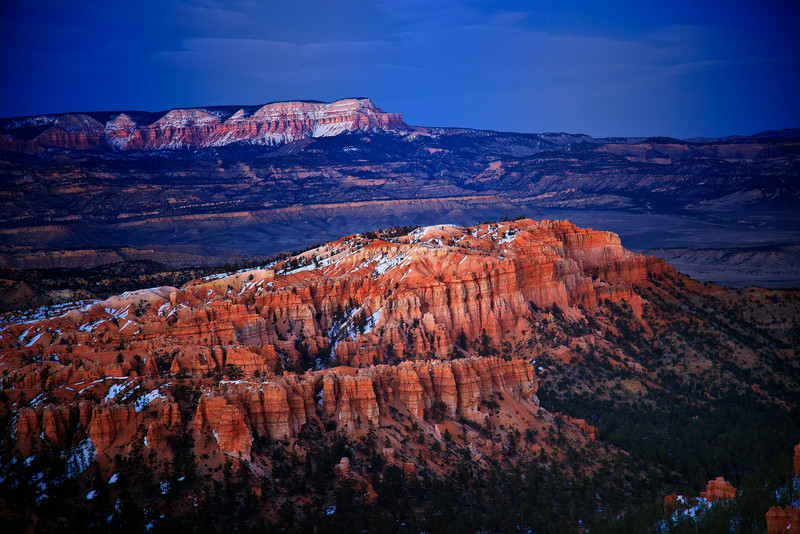 Beautiful Bryce Canyon , in the national park
