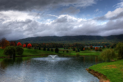 Pond and Golf Course View Massanutten