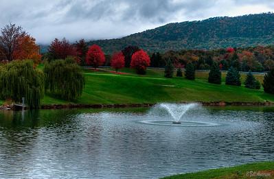 Golf,pond,Massanutten