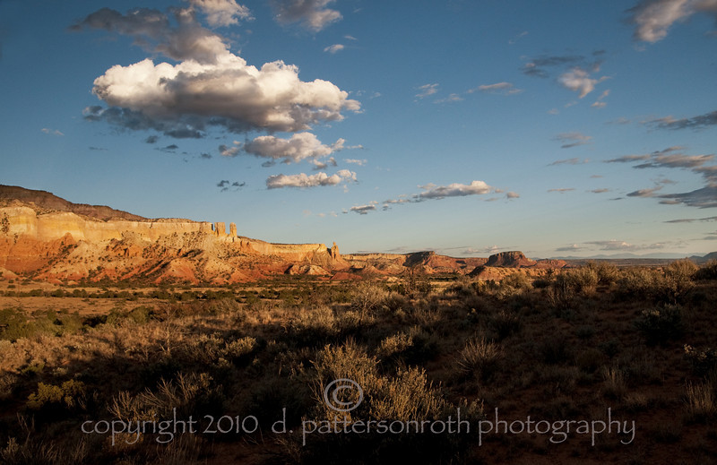 Near Ghost Ranch, New Mexico