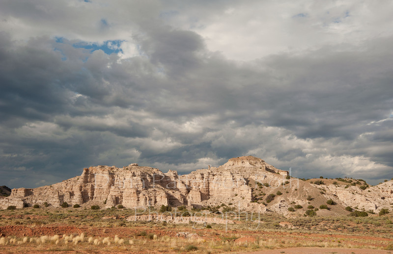White hills north of Abiquiu