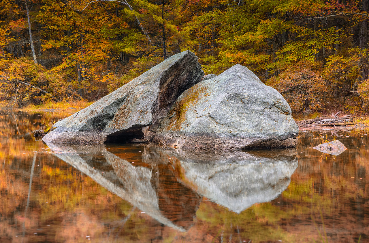 Rocks in a Lake