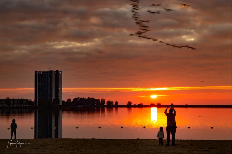 Sunset Bergen op Zoom