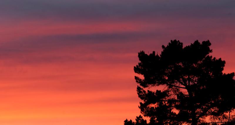 Sunset from Hacineda Carmel