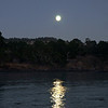Moon over the Santa Lucias - Whalers Cove