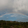 Mid afternoon on November 23rd.  Rainbow over Whalers Knoll.