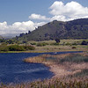 The Carmel River Lagoon and Wetlands Natural Preserve - looking toward Palo Corona Ranch