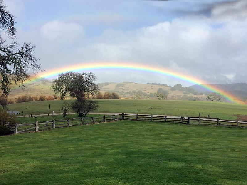 Rainbow at the Hacienda