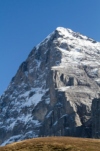 Eiger mit der berühmten Nordwand (3979 m)