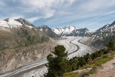 Aletschgletscher: der grösste und längste Gletscher in den Alpen