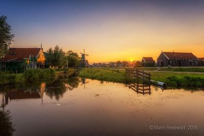 Sunset Zaanse Schans - Zaandijk