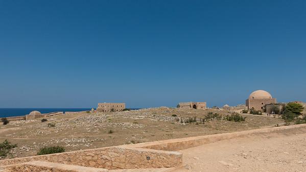 Fortezza Castle Rethimnon Kreta.