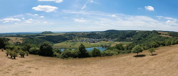 Meerfeld, Eifel Duitsland.