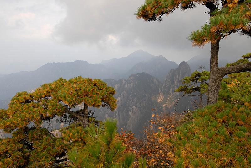Yellow mountains, China