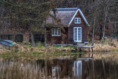 Hytte ved Ejstrup sø