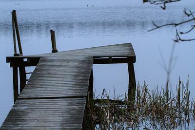 Bro ved Ejstrup sø
