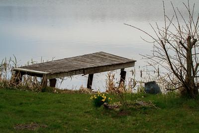 En bro ved Ejstrup sø