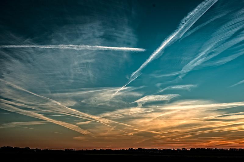 Solnedgang, Tønder marsken