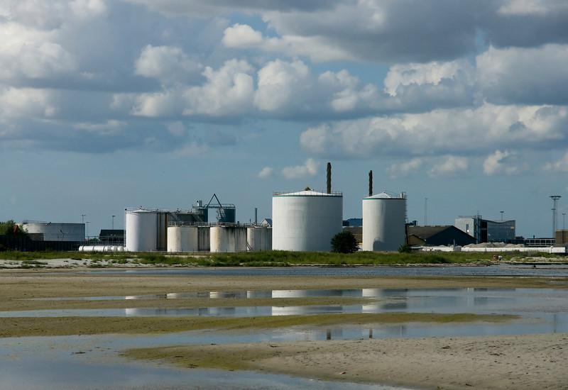 Industriområdet i den sydlige del af Køge Havn