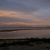 Søndre Strand ved solnedgangstid