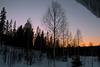 Solnedgång över Kläppen, Dalarna